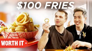 Video $3 Fries Vs. $100 Fries MP3, 3GP, MP4, WEBM, AVI, FLV Agustus 2018