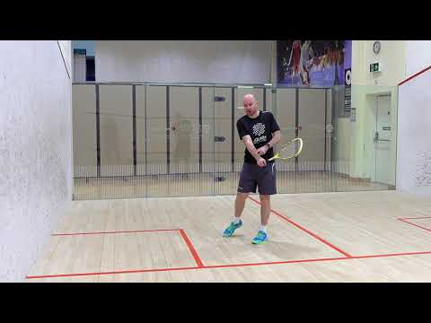 Squash tips: Angles of Attack with Jesse Engelbrecht - 'Booming' cross-court from the back