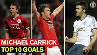 Video Michael Carrick | Top 10 Goals | Manchester United MP3, 3GP, MP4, WEBM, AVI, FLV Agustus 2019