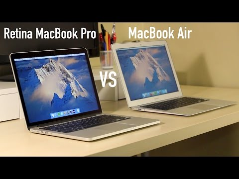 macbook air - Wondering whether you should buy the MacBook Air or the MacBook Pro with Retina Display? This video goes over the reasons you should buy the MacBook Air. Thi...