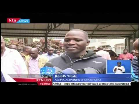 KTN Leo: Julius Yego atoka hospitalini akiwa mzima baada ya ajali, October 24 2016