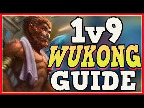 HOW TO WUKONG JUNGLE 1v9 FOR BEGINNERS | WUKONG CARRY GUIDE | League of Legends
