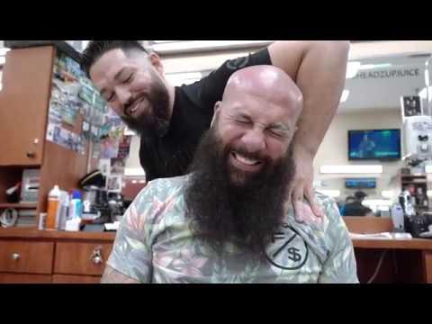 CRAZY Barbershop Therapy fixes 20 YEARS FROZEN SHOULDER