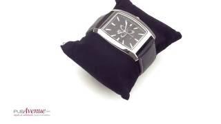 Montre personnalisable avec bracelet en cuir