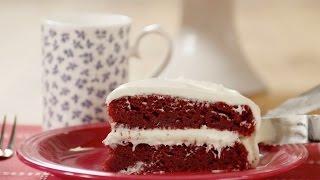 Glutenvrije red velvet cake