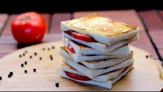 Tomato Pepper Sandwich | Tomato Sandwich
