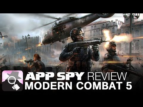 Modern - Modern Combat 5: Blackout | iOS iPhone Gameplay Review Visit http://www.appspy.com for more great iPhone and iPad game reviews. Approximate Installed Size - 2 GB http://www.appspy.com/review/8828...
