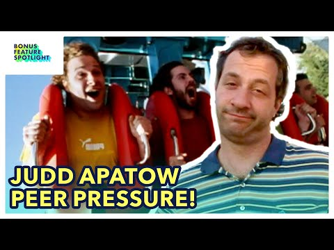 Knocked Up | Judd Apatow Peer Pressures His Cast to Ride the Rollercoaster | Bonus Feature Spotlight