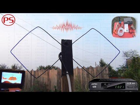 Цифровое ТВ на даче (делаем биквадрат для DVB T2)