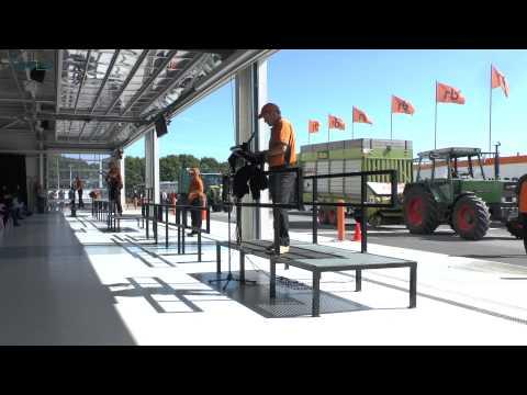 Ritchie Bros Meppen Trekkerweb (видео)