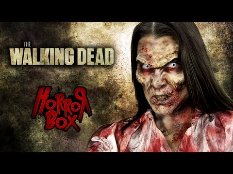 Tutorial Maquillaje - Zombie - The Walking Dead - Horror Box