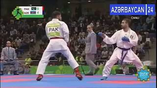 Here you have the final from Men Kumite -75 Kg from the Islamic Solidarity Games from Baku,a week ago.Abbas from Pakistan ...