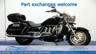 4. Triumph Rocket TOURING - Overview | Motorcycles for Sale from SoManyBikes.com