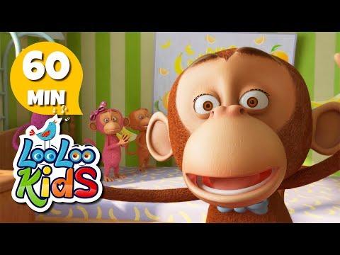 Five Little Monkeys - THE BEST Songs for Children   LooLoo Kids