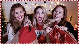 Video Gift Exchange With Tanya & Niomi | Zoella MP3, 3GP, MP4, WEBM, AVI, FLV November 2018