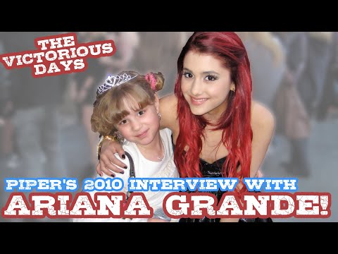 PQP 010: Ariana Grande from Victorious on the Red Carpet with Piper Reese!