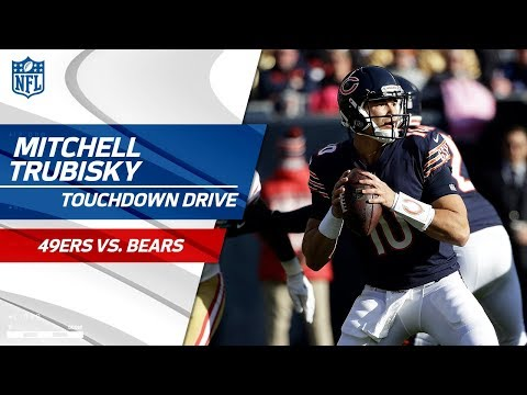 Video: Jimmy Garoppolo Tosses an INT & Mitchell Trubisky Tosses a TD! | 49ers vs. Bears | NFL Wk 13