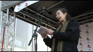 Dr. Helen Pankhurst At Join Me On The Bridge, London, 2011