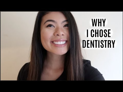 WHY I CHOSE DENTISTRY // LauraSmiles