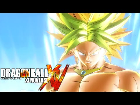 Kroly Fusion Broly and Goku Fused!!! Dragon Ball Xenoverse 2 Warm Up!!! DBXV MODS