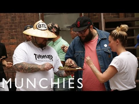 How To Make Back Alley Ribs with Matty Matheson - This guy is awesome