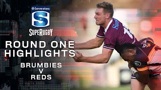 Brumbies v Reds Rd.1 2020 Super rugby video highlights | Super Rugby Video Highlights