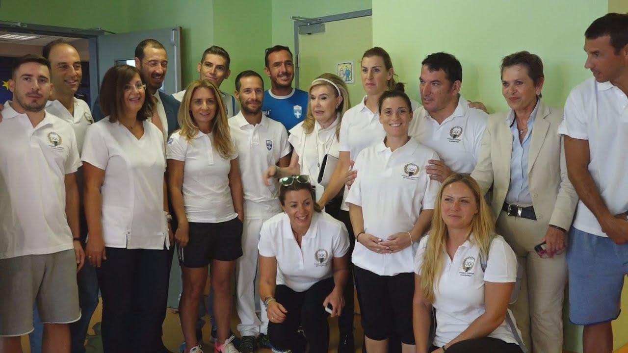 Ολυμπιονίκες του Ρίο στο πλευρό των μικρών αγωνιστών της ζωής