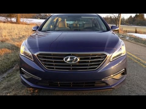 2015 Hyundai Sonata Eco Test Drive Video Review