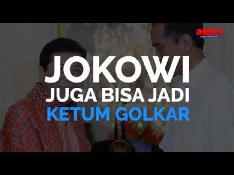 Jokowi Juga Bisa Jadi Ketum Golkar
