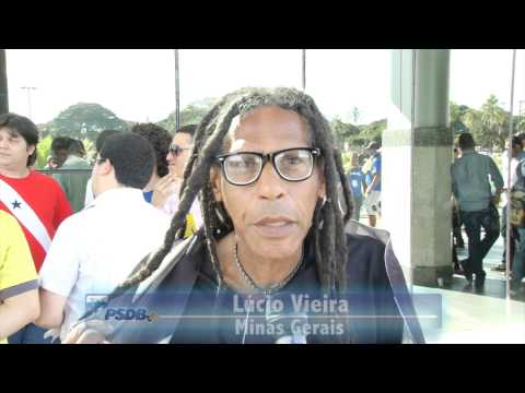 TUCANO FALA – Militantes destacam unidade do PSDB