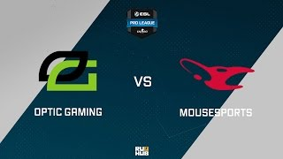 mouz vs OpTic, game 1