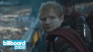 Subscribe For All Breaking Music News! ▻▻ http://bit.ly/Subscribe2BBNews Watch The Latest News ▻▻ http://bit.ly/BBNewsLatest Ed Sheeran made his highly ...