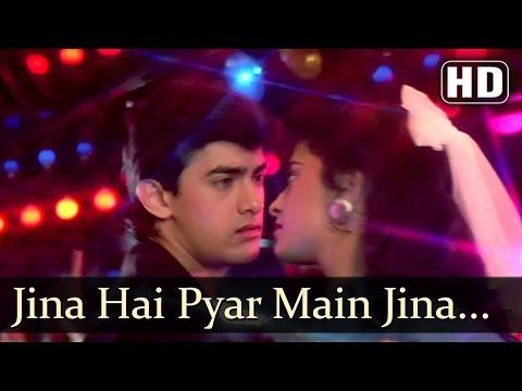 Video Love Love Love - Jeena Hai Pyar Mein - Amir Khan - Juhi Chavla - Vijay Benedict download in MP3, 3GP, MP4, WEBM, AVI, FLV January 2017