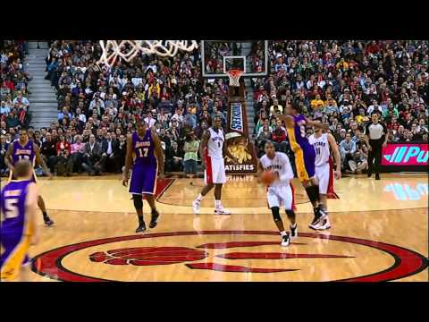 Barbosa steal and half court buzzer beater vs. Lakers