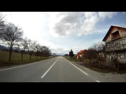 OPĆINA VRHOVINE - Journey through Croatia, along the state road D-52, in Lika region. [read more below] This video begins at the entrance into Vrhovine village, which is now a...