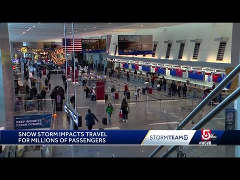 Storm impacting thousands of travelers