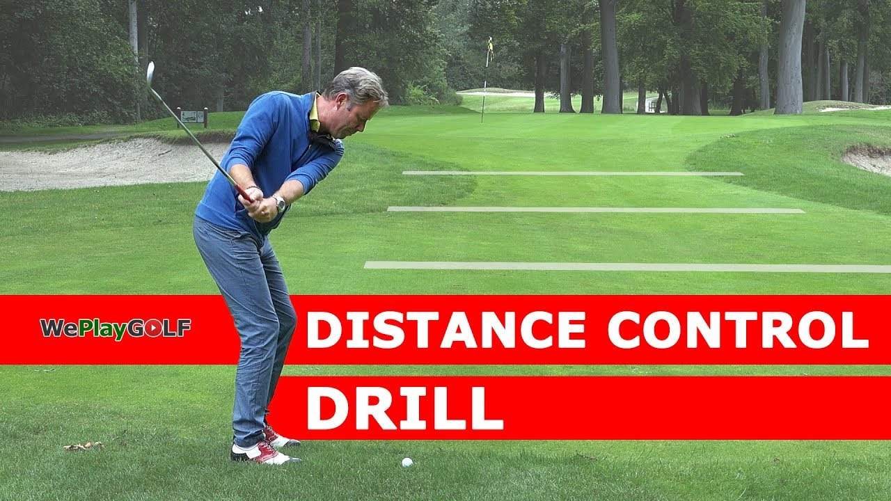Great drill to control your chipping distance