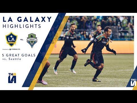 Video: Five Great Goals: LA Galaxy vs. Seattle Sounders