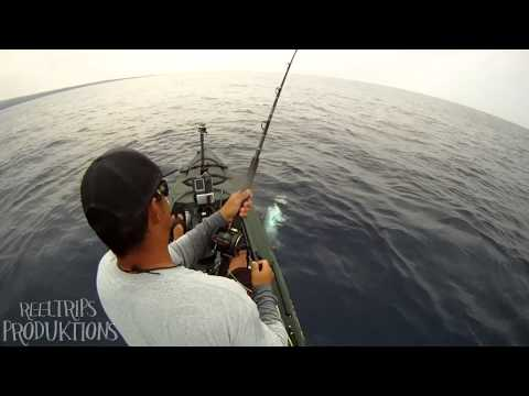 EXTREME KAYAK FISHING 62lb TUNA & 27lb ONO  - kayak fishing, kayak photos, kayak videos