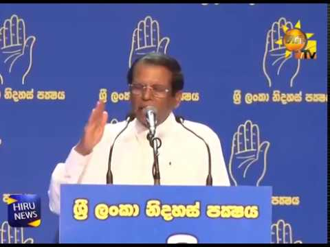 October 26th decision is correct - Current political crisis will end within a week; Says President at the SLFP convention