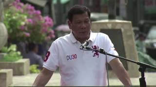 Duterte on family planning: Please stop at 3