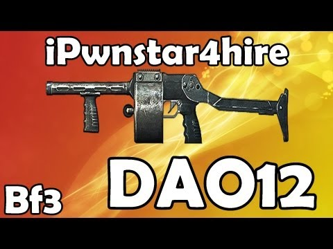 dao12 - Thanks for the support guys, hopefully next week we can see some progress! Enjoy this Battlefield 3 DAO 12 Gun setup, Flechette is BAWS! Rate if you enjoyed!...