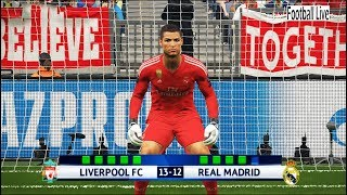 Video PES 2018 | goalkeeper M.SALAH vs goalkeeper C.RONALDO | Penalty Shootout | Liverpool vs Real Madrid MP3, 3GP, MP4, WEBM, AVI, FLV April 2018