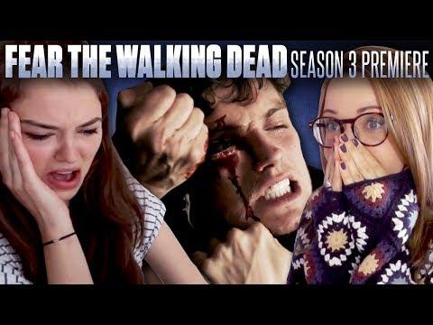 "Fans React To Fear The Walking Dead Season 3 Premiere: ""Eye of The Beholder"" & ""The New Frontier"""