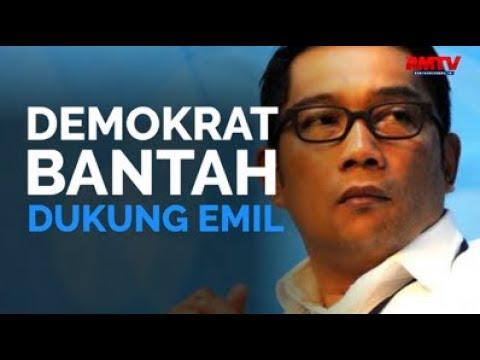 Demokrat Bantah Dukung Emil