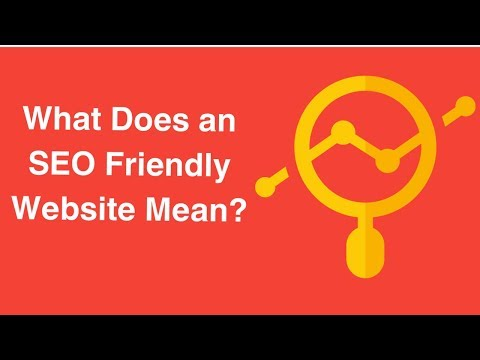Watch 'What Does an SEO Friendly Website Mean? - YouTube'
