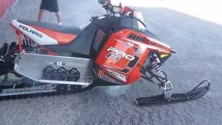 4. 2012 POLARIS 600 SWITCHBACK PRO R SNOWCHECK SNOWMOBILE