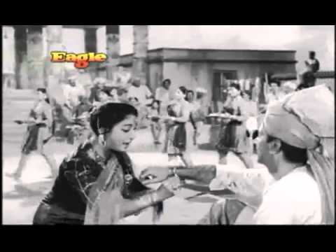 Rang Birangi Rakhi Lekar: By Lata - Anpadh (1962) - Hindi