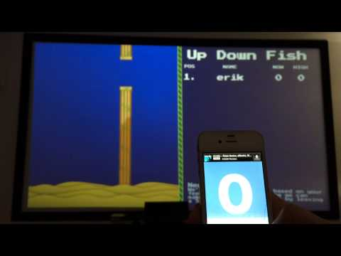 Video of Up Down Fish - Chromecast Game