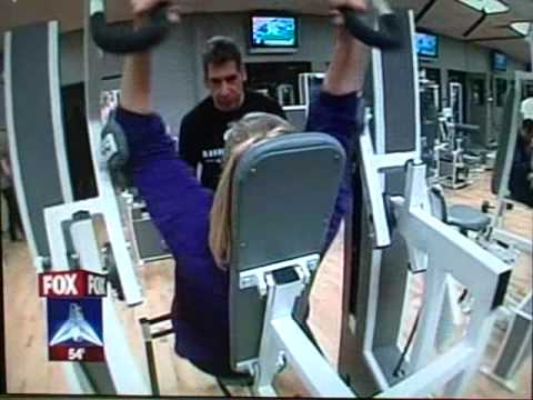 Bill Crawford Fitness Trainer 02-26-08 Fox News in MedX Center